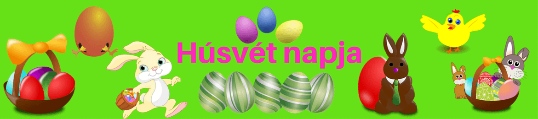 Húsvét napja logó - Húsvét, Locsoló versek, Húsvéti locsoló versek, Húsvéti versek, Húsvéti képek, Tojás festés, Húsvéti dekoráció, Húsvéti szokások.
