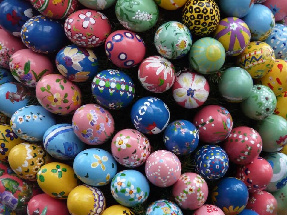 Húsvéti szokások - Tojásfestés